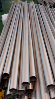 Longitudinal Weld with 6 Meters Titanium Pipe